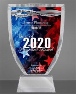 best-plumber-of-pompano-award-2020
